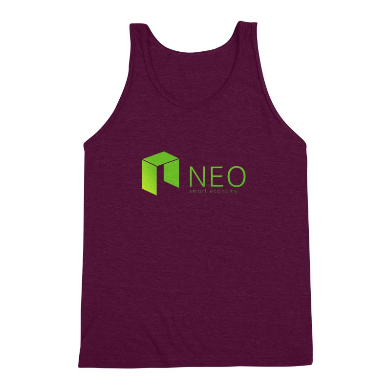 Neo Smart Economy Men's Triblend Tank by cryptapparel's Artist Shop