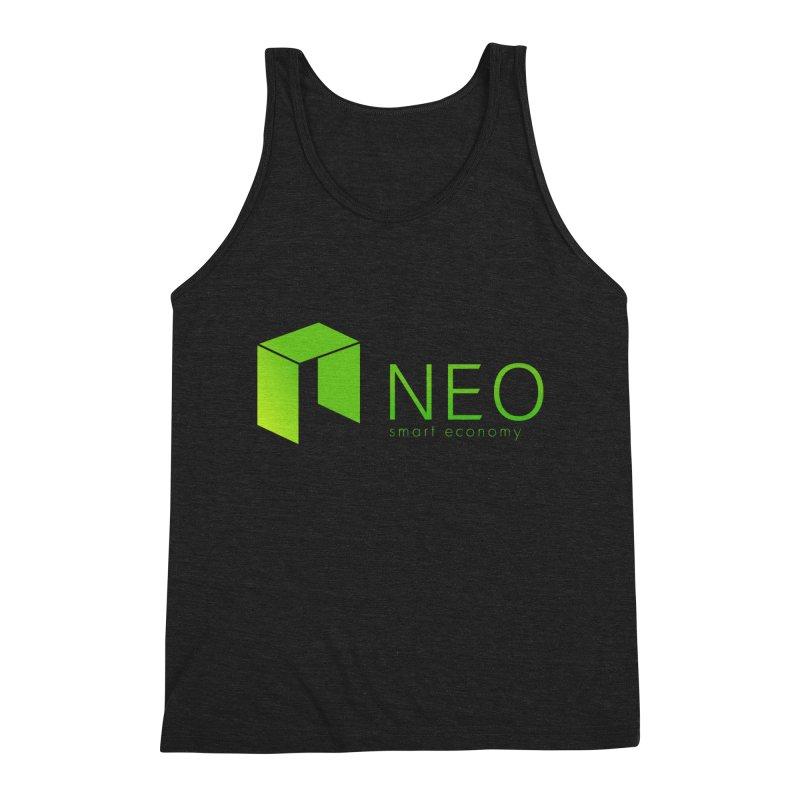 Neo Smart Economy Men's Triblend Tank by cryptapparel's Artist Shop