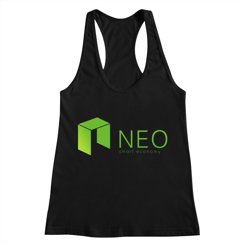 Neo Smart Economy Women's Racerback Tank by cryptapparel's Artist Shop