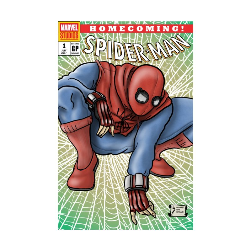 Spider-man: Homecoming Cover Swipe Accessories Bag by cryptopop's Artist Shop
