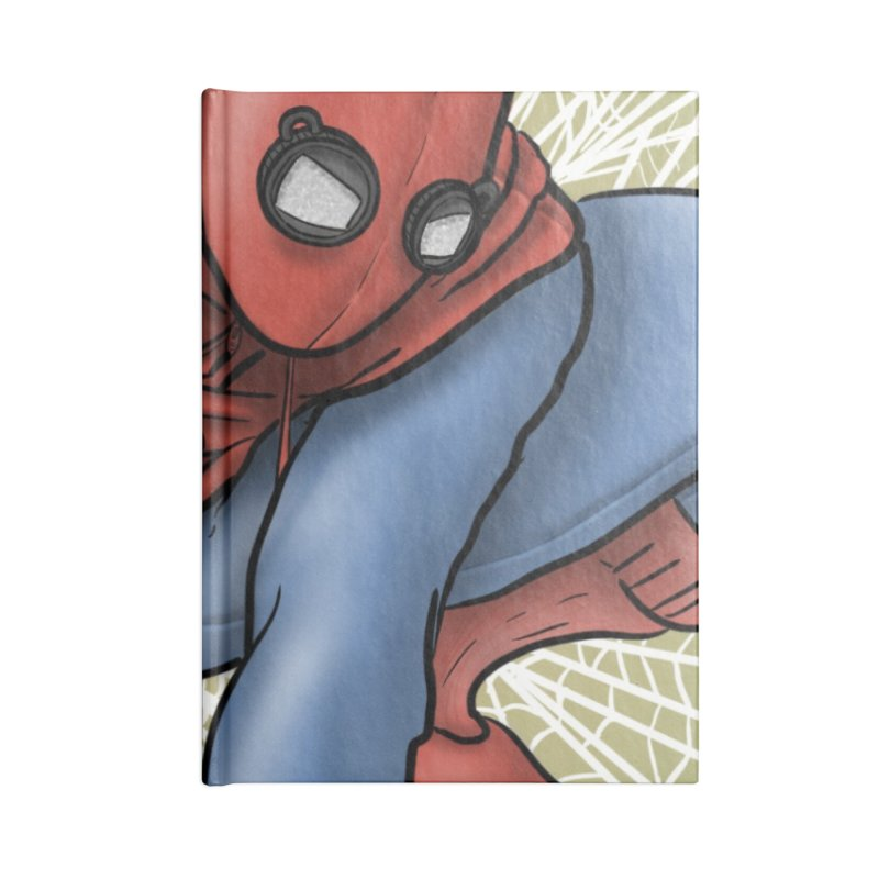 Spider-man: Homecoming Cover Swipe Accessories Blank Journal Notebook by cryptopop's Artist Shop