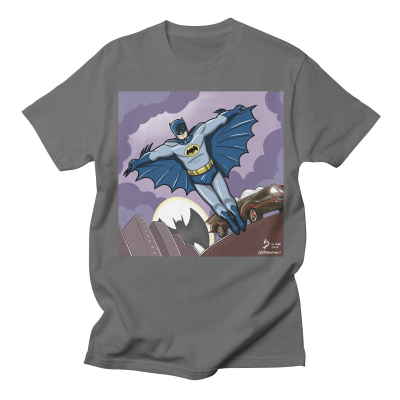 Adam West Batman Men's Regular T-Shirt by cryptopop's Artist Shop