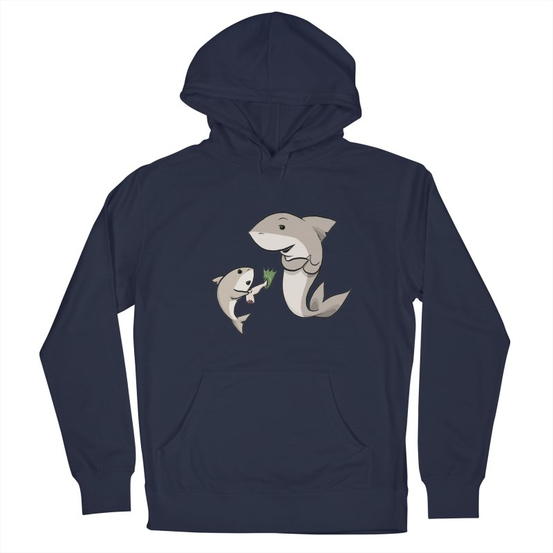 Sharks Women's French Terry Pullover Hoody by cryptopop's Artist Shop