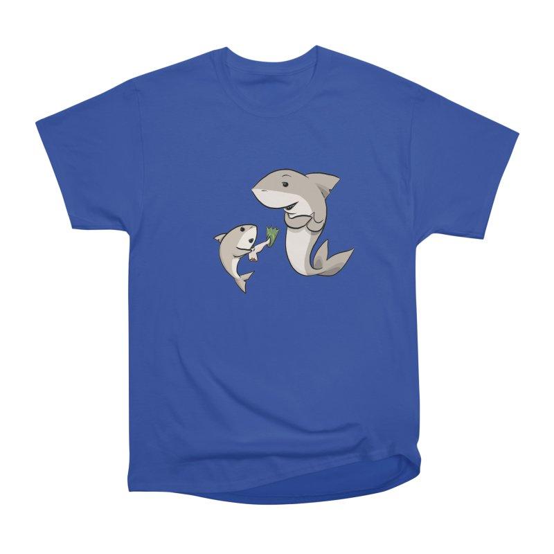 Sharks Men's Heavyweight T-Shirt by cryptopop's Artist Shop