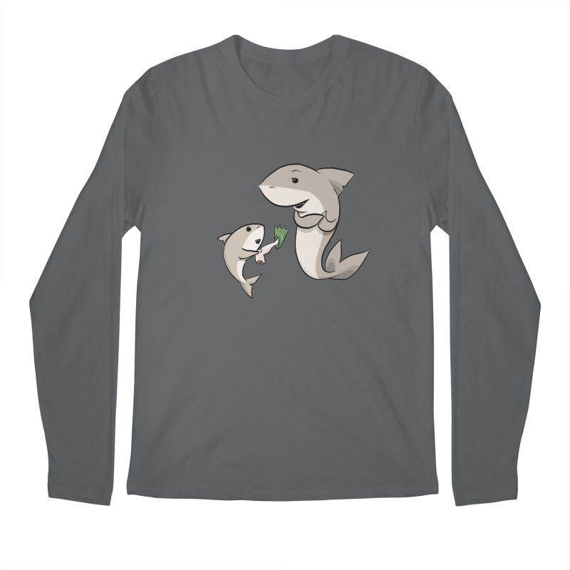 Sharks Men's Longsleeve T-Shirt by cryptopop's Artist Shop