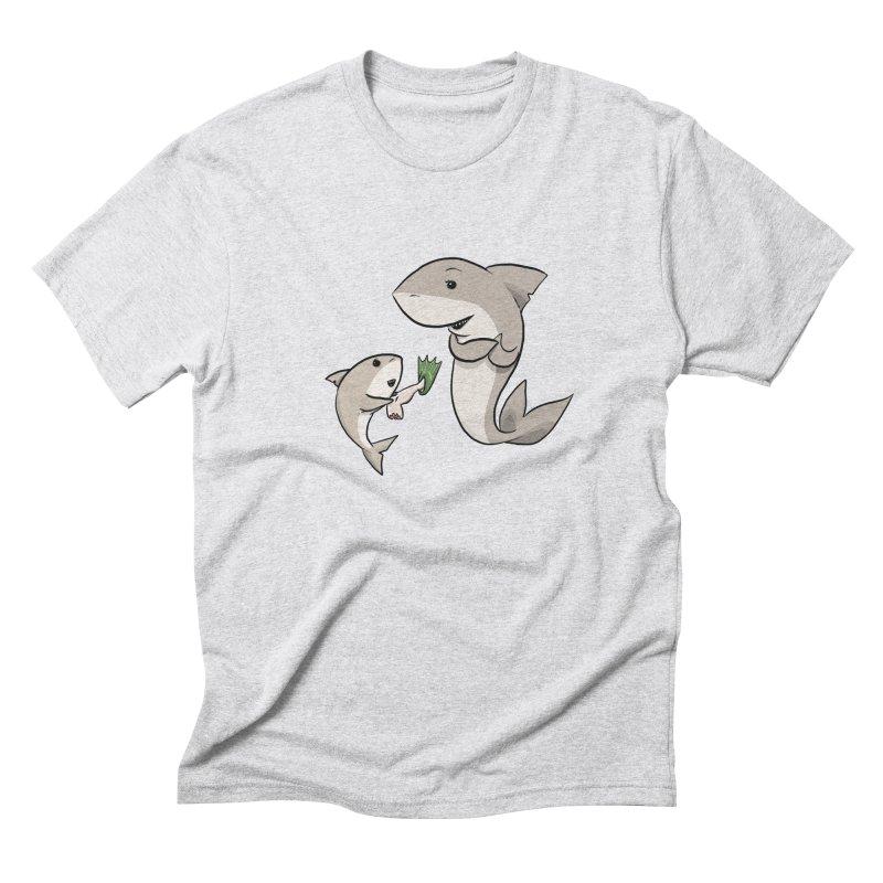 Sharks Men's Triblend T-Shirt by cryptopop's Artist Shop