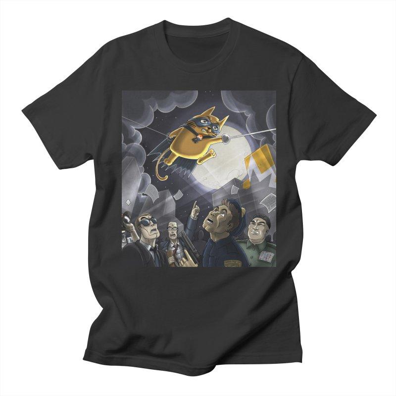 Monero Cat Over the Moon Women's Regular Unisex T-Shirt by cryptopop's Artist Shop
