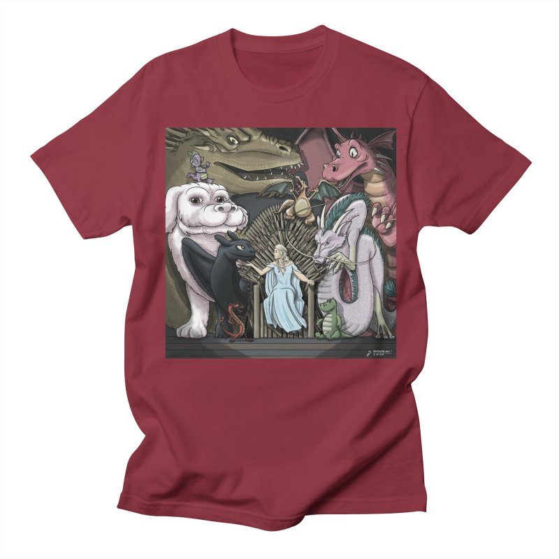 Mother of Dragons Women's Regular Unisex T-Shirt by cryptopop's Artist Shop