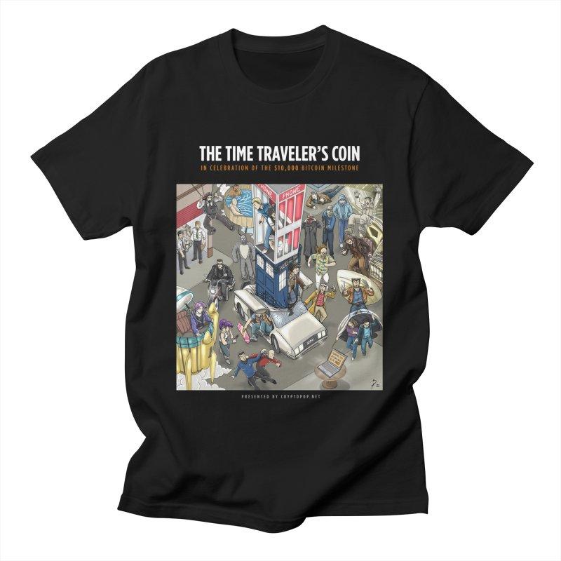 The $10,000 Bitcoin Men's T-Shirt by cryptopop's Artist Shop