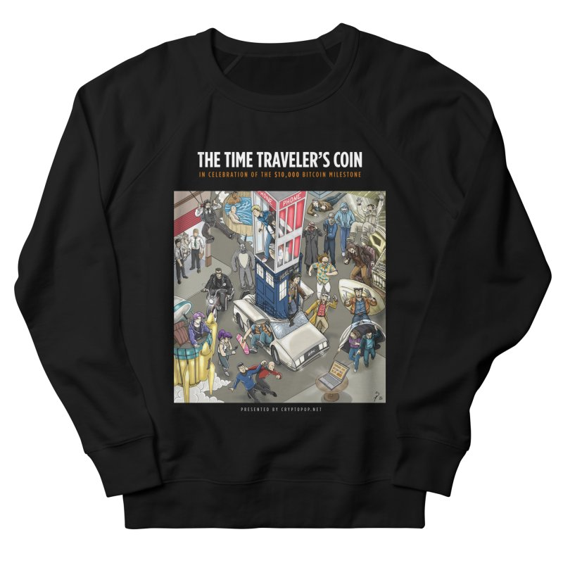 The $10,000 Bitcoin Men's French Terry Sweatshirt by cryptopop's Artist Shop