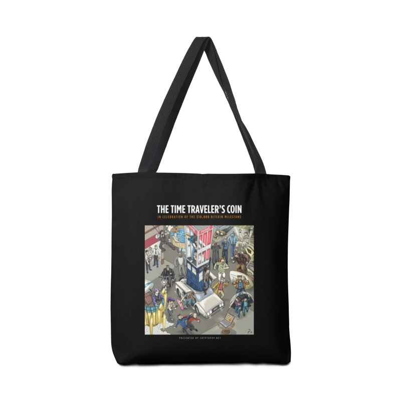 The $10,000 Bitcoin Accessories Tote Bag Bag by cryptopop's Artist Shop