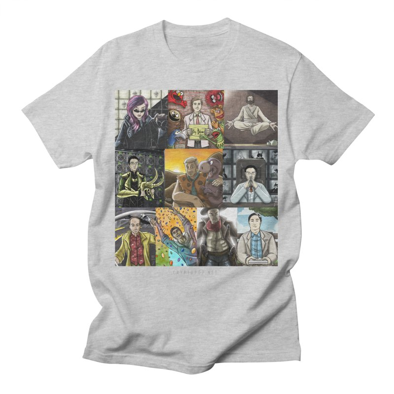 Coindesk's Most Influential People in Crypto 2017 Men's T-Shirt by cryptopop's Artist Shop