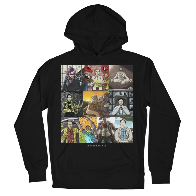 Coindesk's Most Influential People in Crypto 2017 Men's French Terry Pullover Hoody by cryptopop's Artist Shop