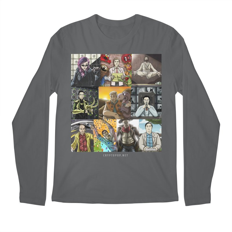 Coindesk's Most Influential People in Crypto 2017 Men's Longsleeve T-Shirt by cryptopop's Artist Shop