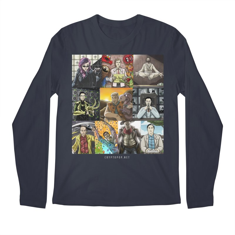 Coindesk's Most Influential People in Crypto 2017 Men's Regular Longsleeve T-Shirt by cryptopop's Artist Shop