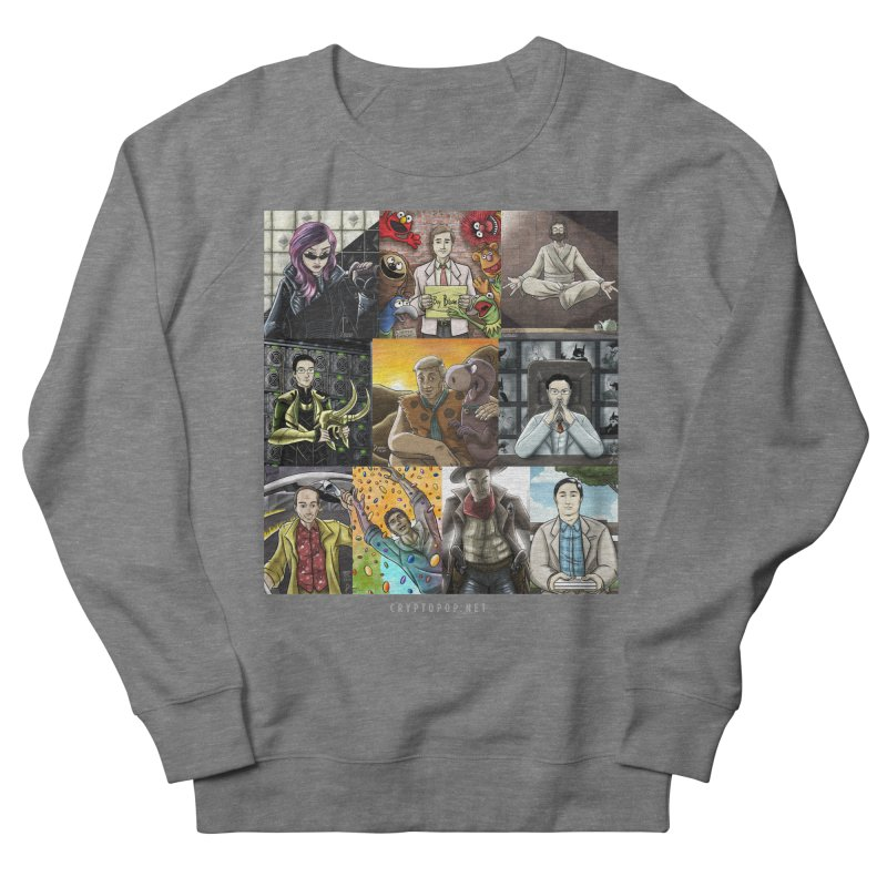 Coindesk's Most Influential People in Crypto 2017 Women's French Terry Sweatshirt by cryptopop's Artist Shop