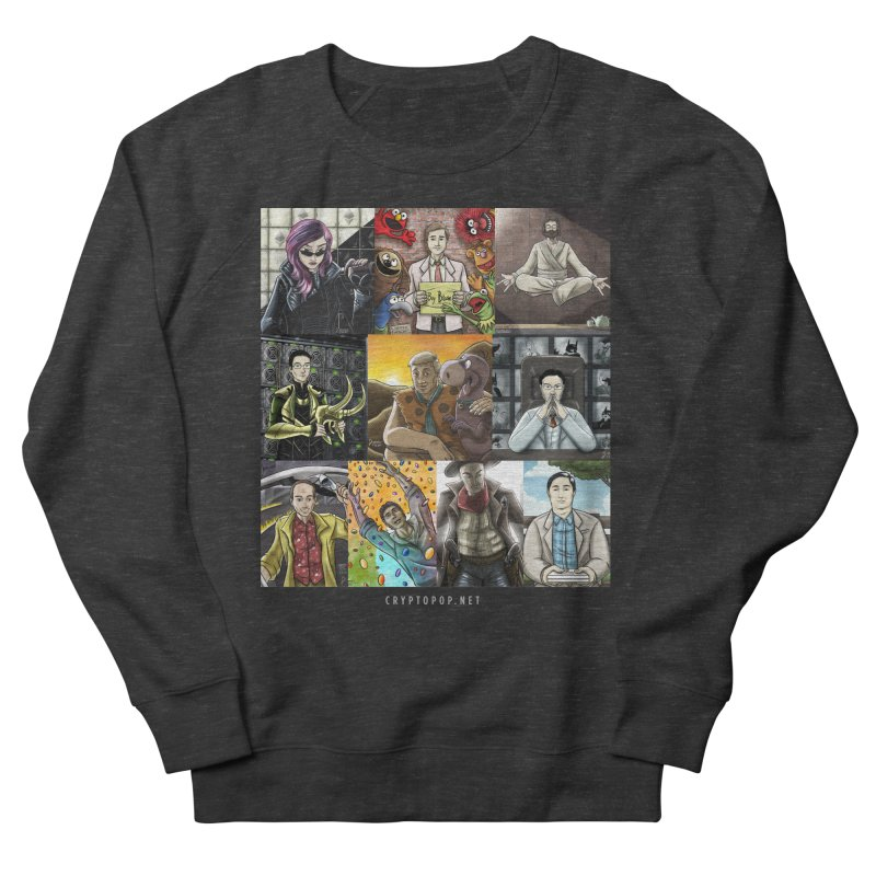 Coindesk's Most Influential People in Crypto 2017 Men's French Terry Sweatshirt by cryptopop's Artist Shop