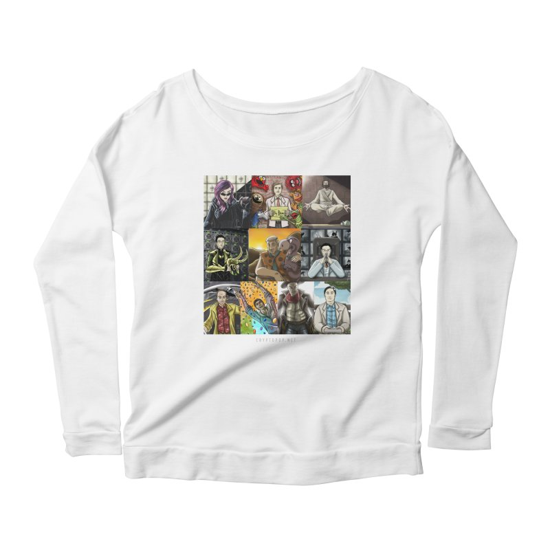 Coindesk's Most Influential People in Crypto 2017 Women's Scoop Neck Longsleeve T-Shirt by cryptopop's Artist Shop