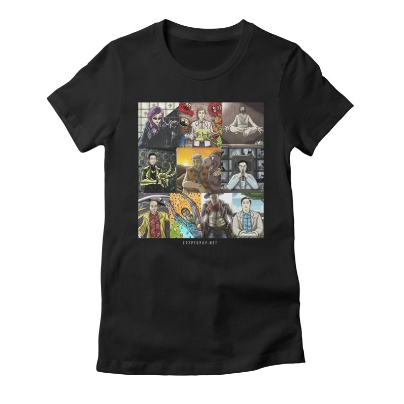 Coindesk's Most Influential People in Crypto 2017 Women's T-Shirt by cryptopop's Artist Shop