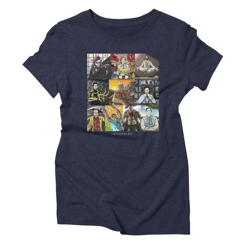 Coindesk's Most Influential People in Crypto 2017 Women's Triblend T-Shirt by cryptopop's Artist Shop