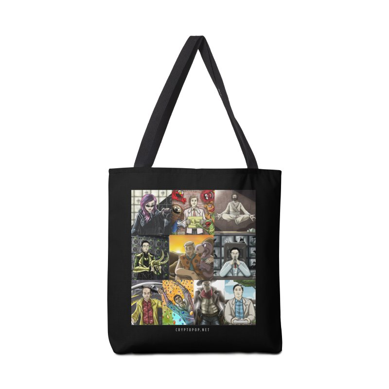 Coindesk's Most Influential People in Crypto 2017 Accessories Tote Bag Bag by cryptopop's Artist Shop