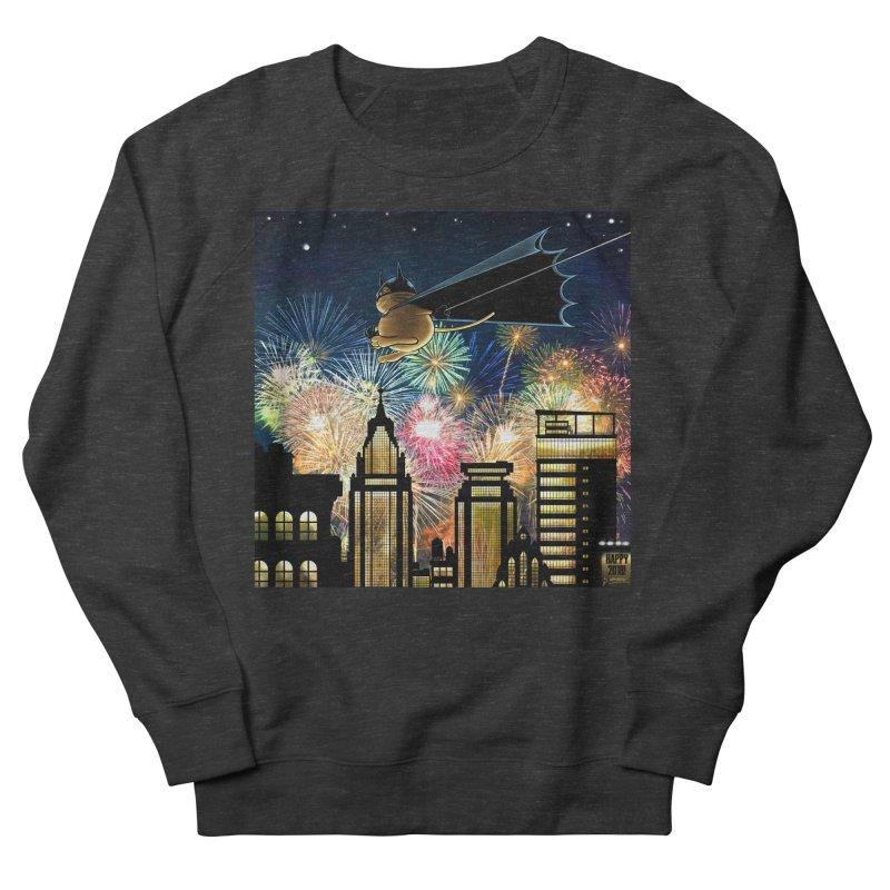 MoneroCat 2018 Men's French Terry Sweatshirt by cryptopop's Artist Shop