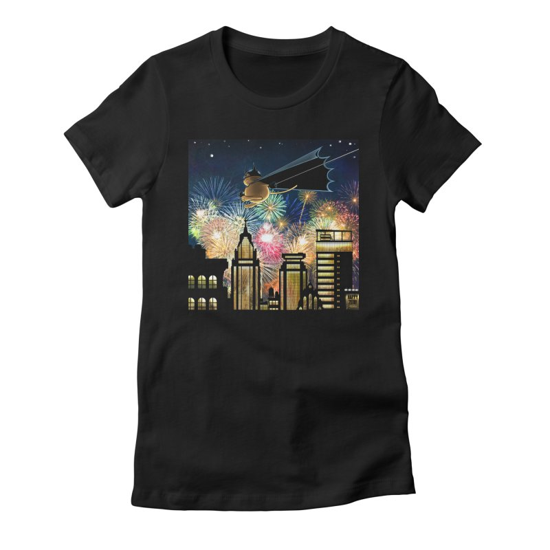 MoneroCat 2018 Women's Fitted T-Shirt by cryptopop's Artist Shop