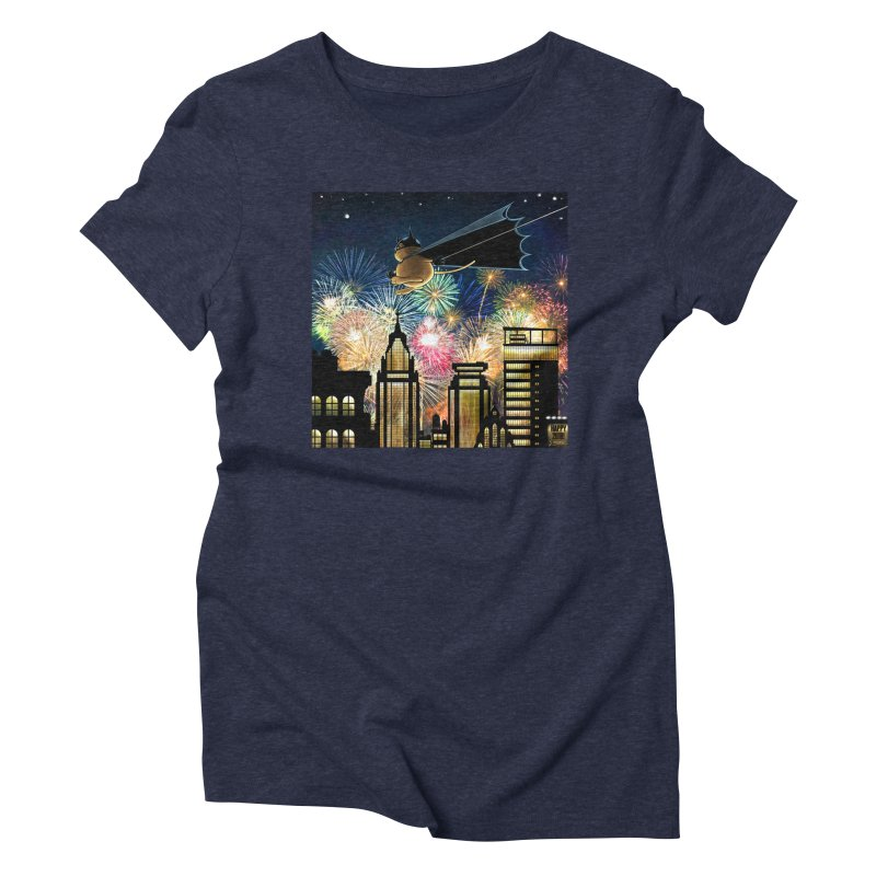 MoneroCat 2018 Women's Triblend T-Shirt by cryptopop's Artist Shop