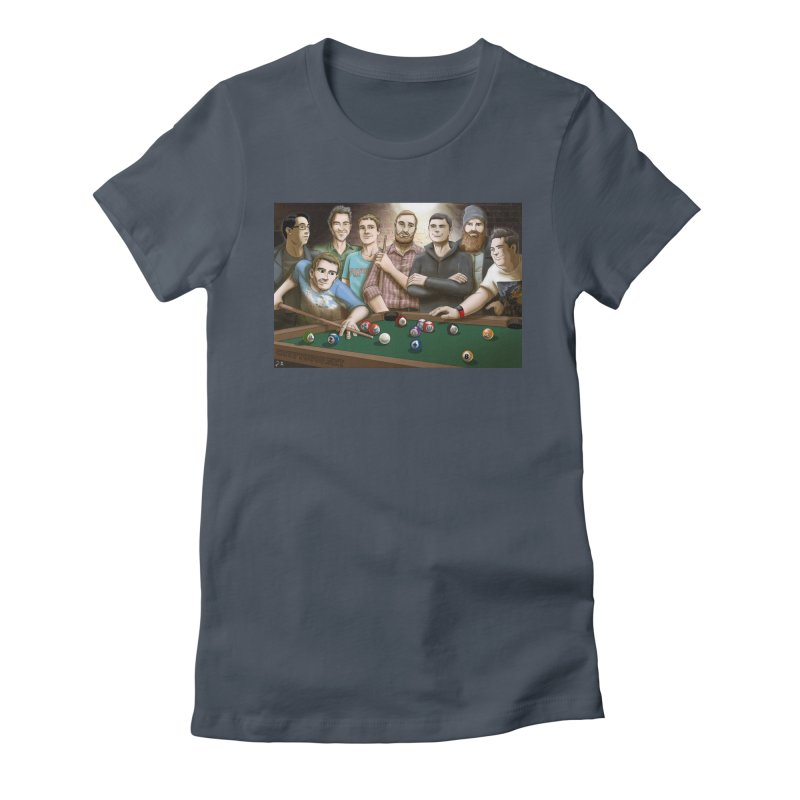Alt Pool Women's Fitted T-Shirt by cryptopop's Artist Shop