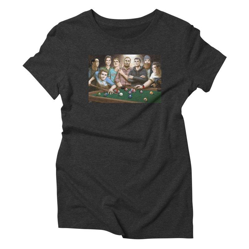 Alt Pool Women's Triblend T-Shirt by cryptopop's Artist Shop