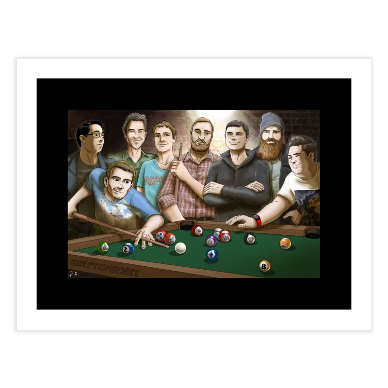 Alt Pool Home Fine Art Print by cryptopop's Artist Shop