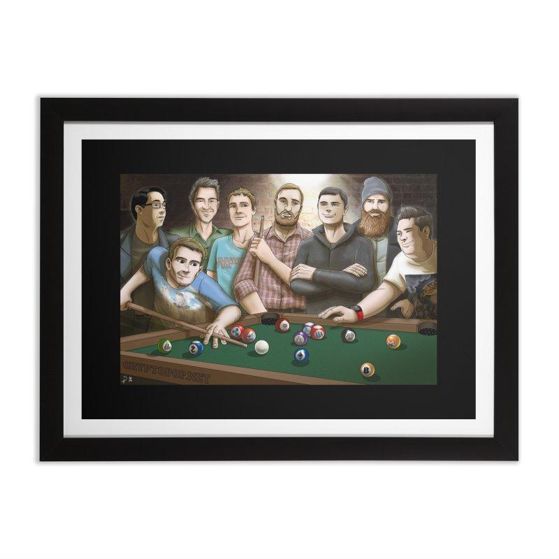 Alt Pool Home Framed Fine Art Print by cryptopop's Artist Shop