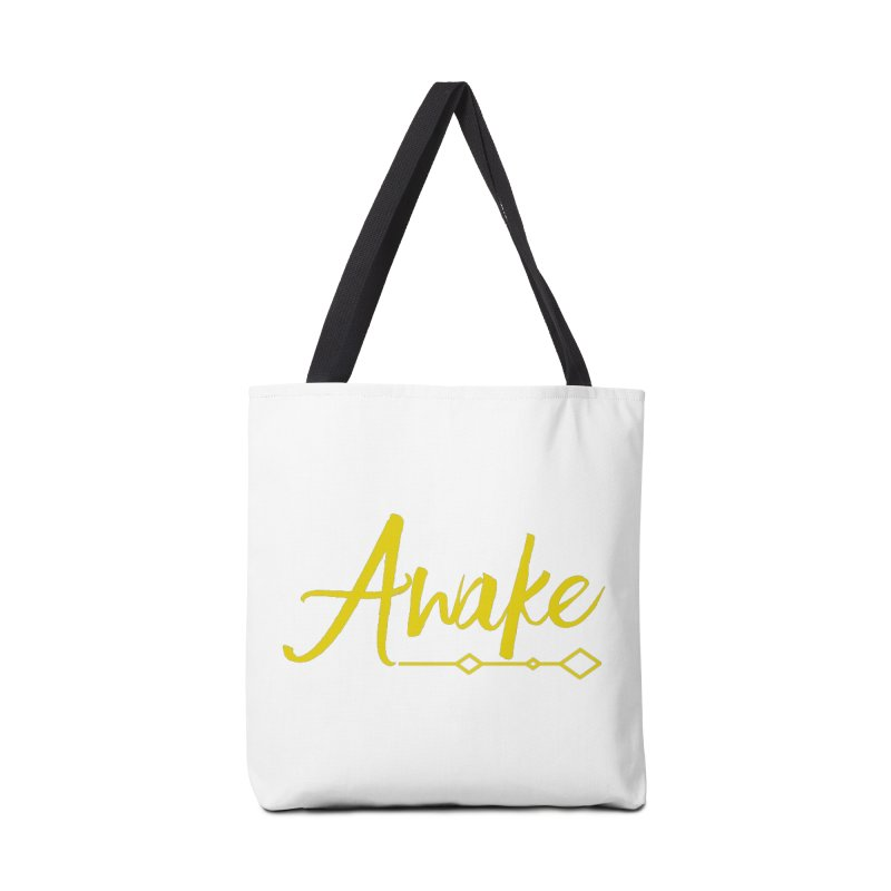 Awake Accessories Tote Bag Bag by Crystalline Light