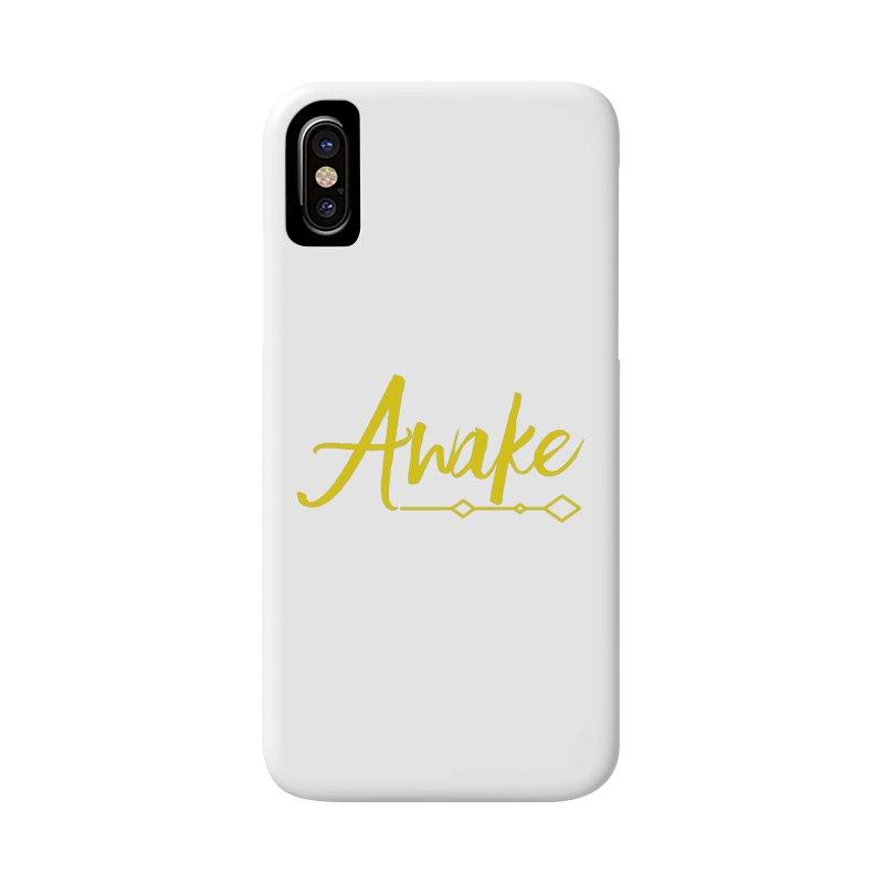Awake Accessories Phone Case by Crystalline Light