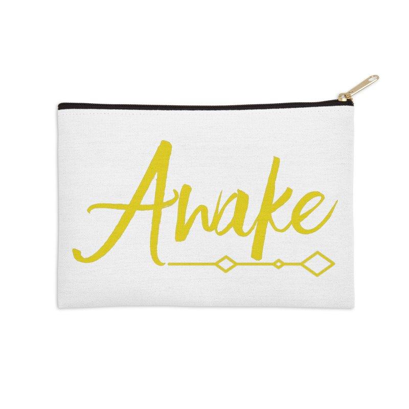 Awake Accessories Zip Pouch by Crystalline Light
