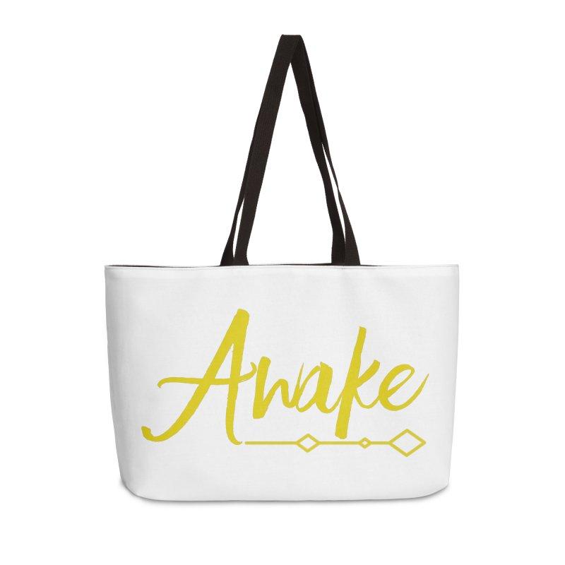 Awake Accessories Weekender Bag Bag by Crystalline Light