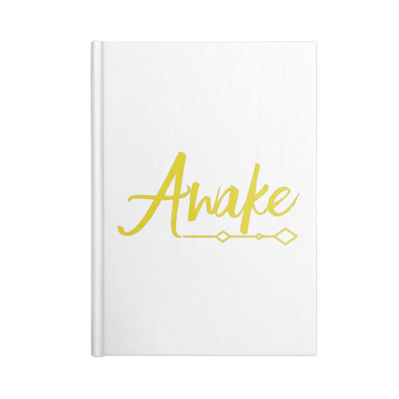 Awake Accessories Blank Journal Notebook by Crystalline Light