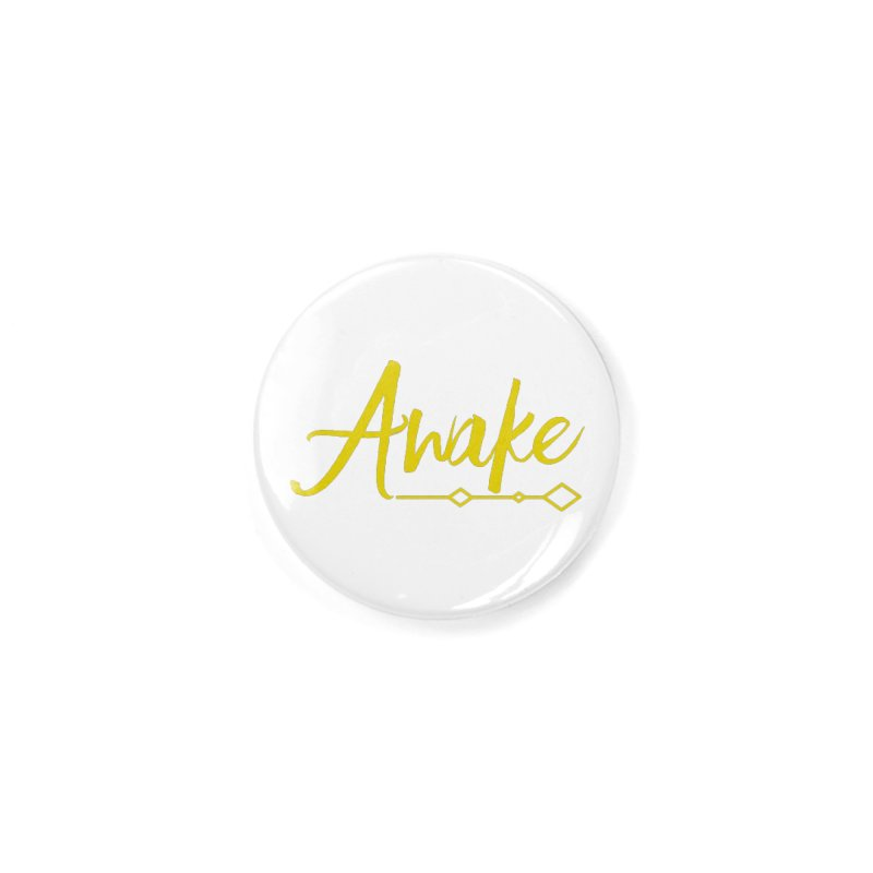 Awake Accessories Button by Crystalline Light