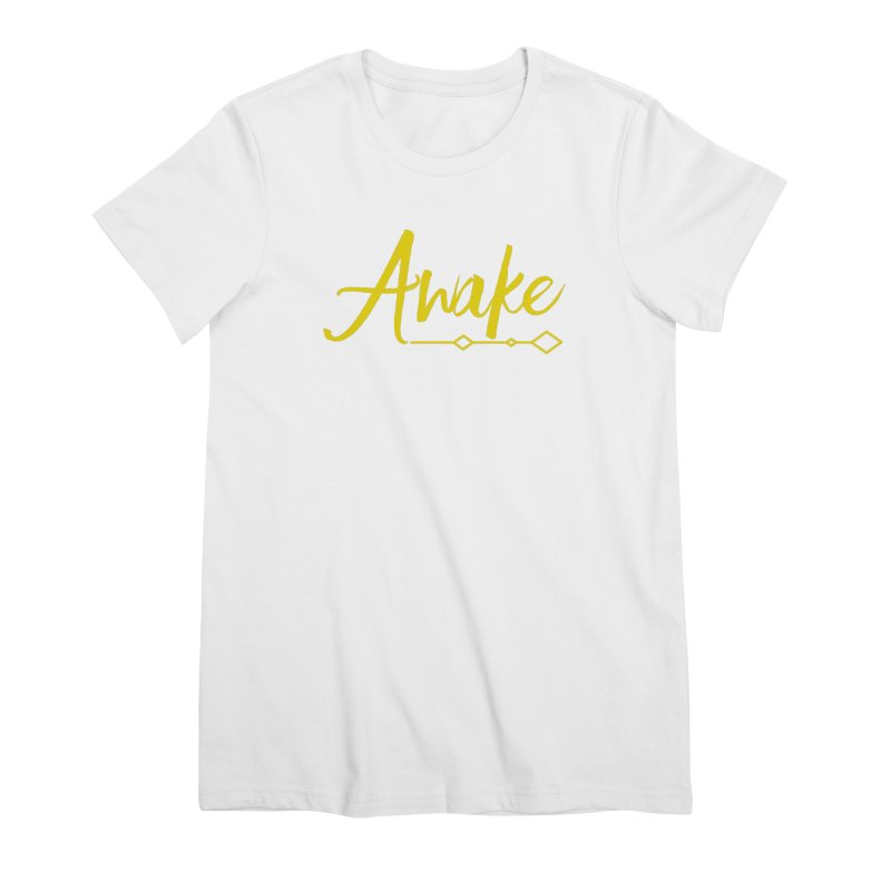 Awake Women's Premium T-Shirt by Crystalline Light