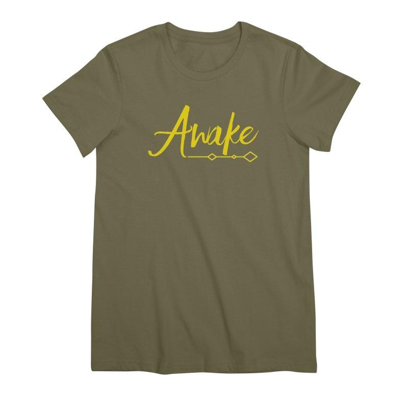 Awake Women's Premium T-Shirt by Crystalline Light