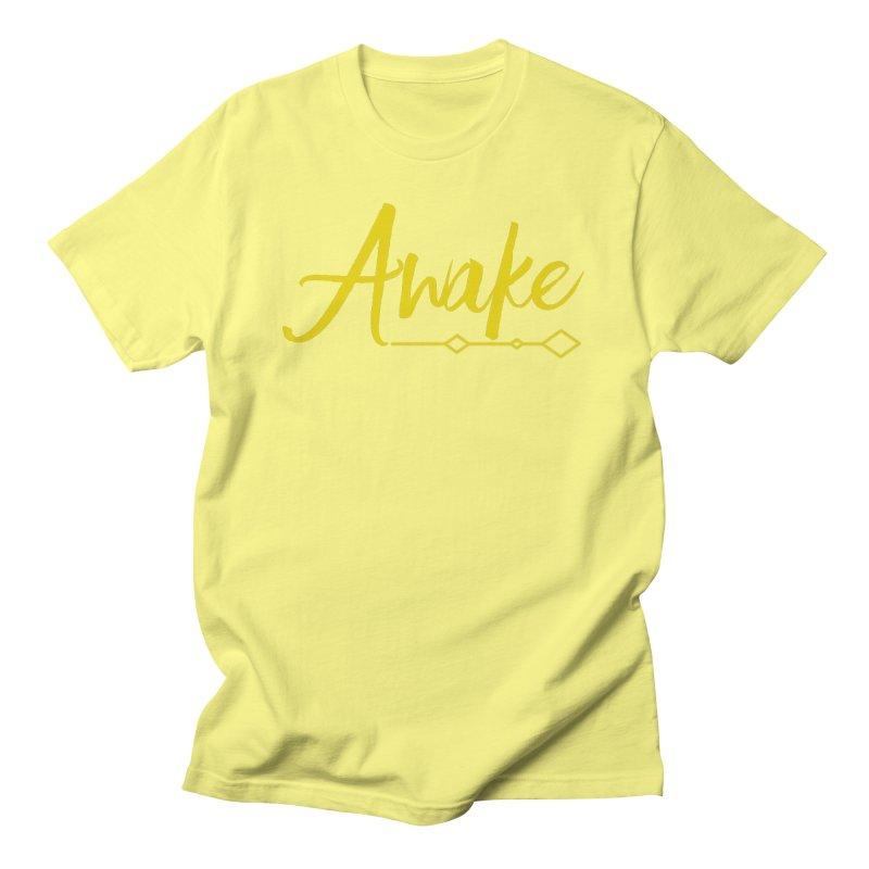 Awake Men's T-Shirt by Crystalline Light