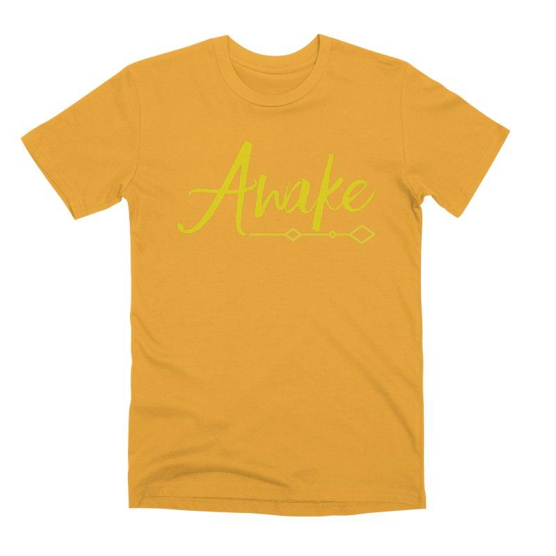 Awake Men's Premium T-Shirt by Crystalline Light