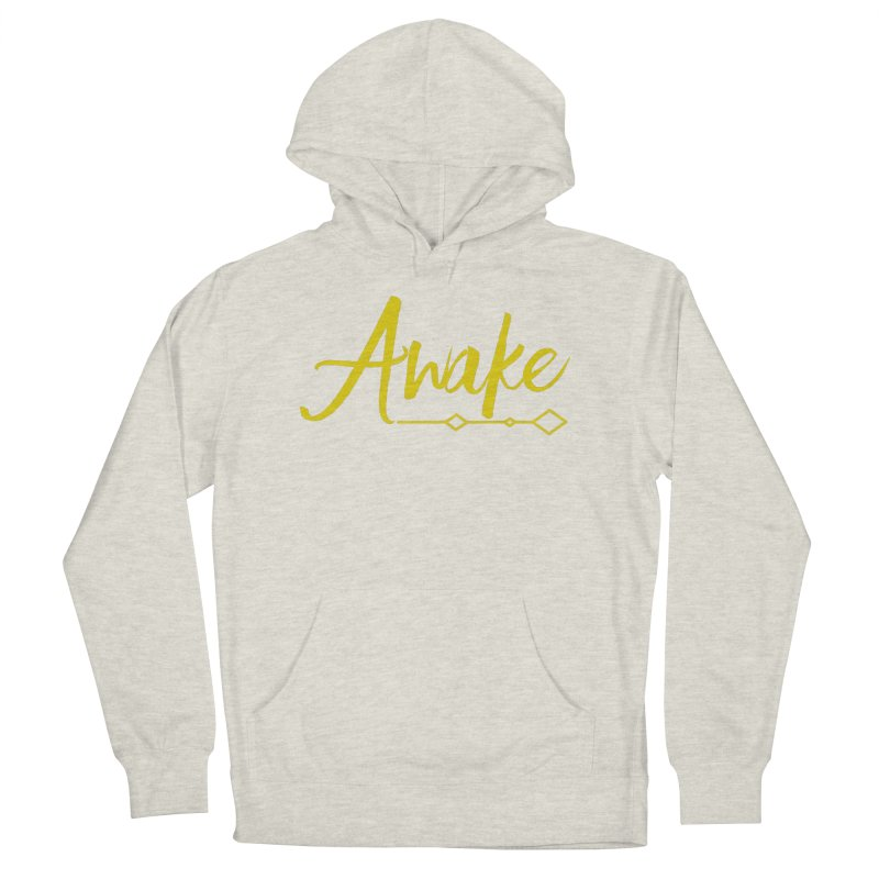 Awake Women's French Terry Pullover Hoody by Crystalline Light