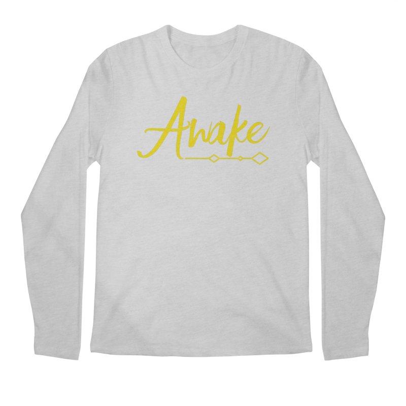 Awake Men's Regular Longsleeve T-Shirt by Crystalline Light
