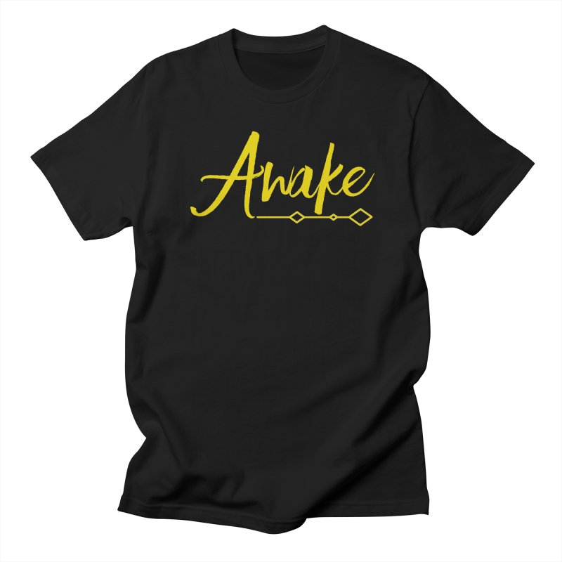 Awake Men's Regular T-Shirt by Crystalline Light