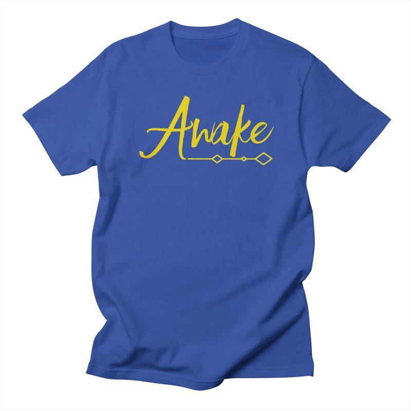Awake Women's Regular Unisex T-Shirt by Crystalline Light