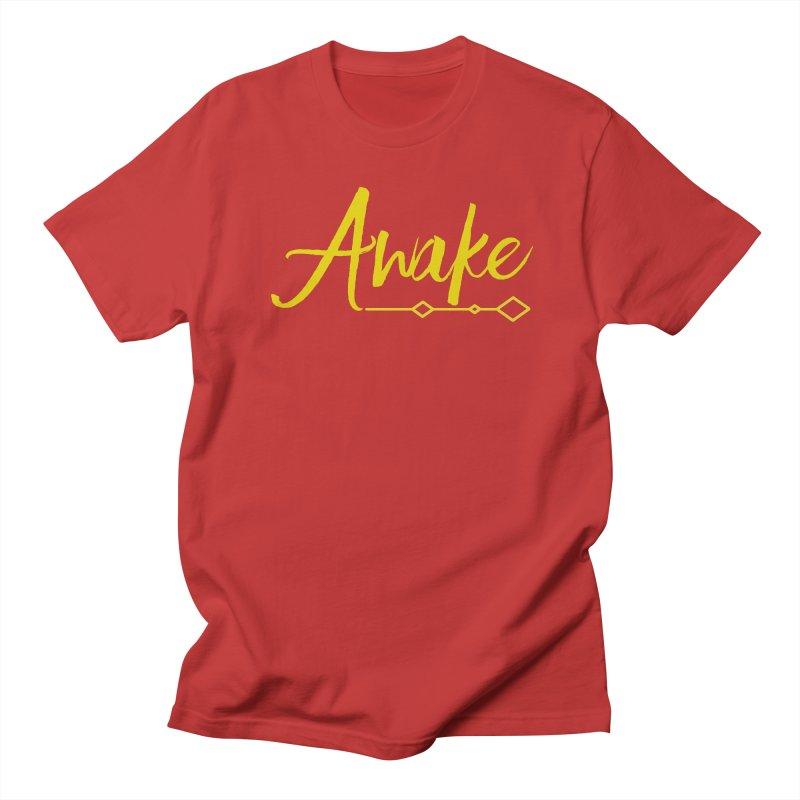 Awake Men's Regular T-Shirt by Crystalline Light