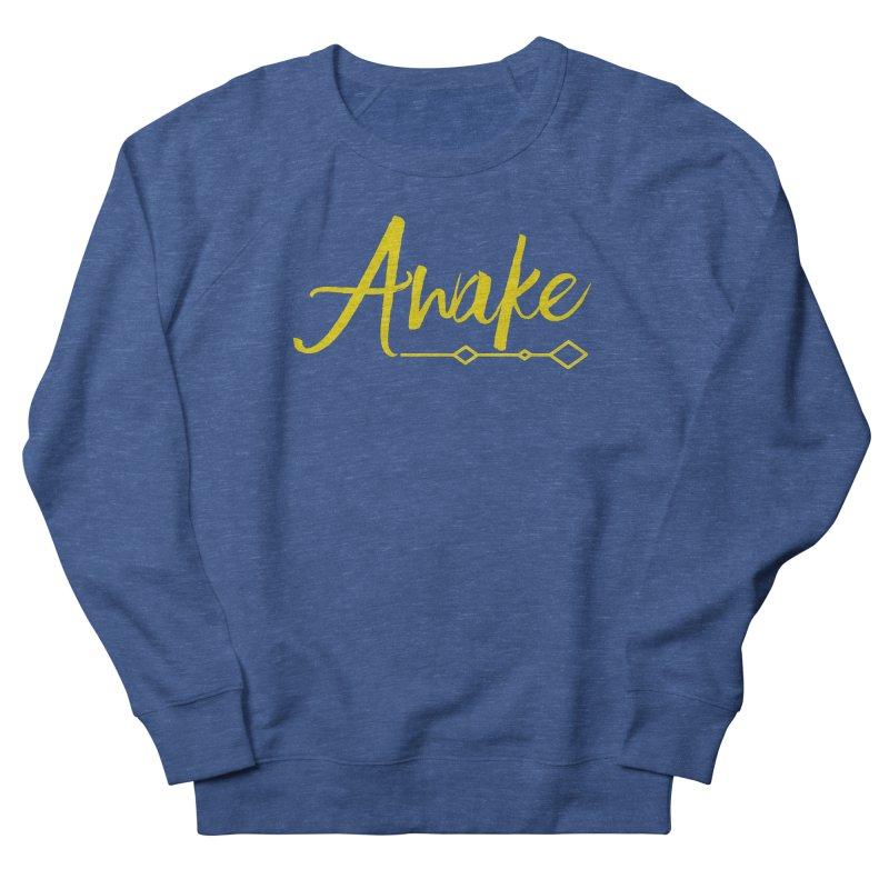 Awake Women's French Terry Sweatshirt by Crystalline Light
