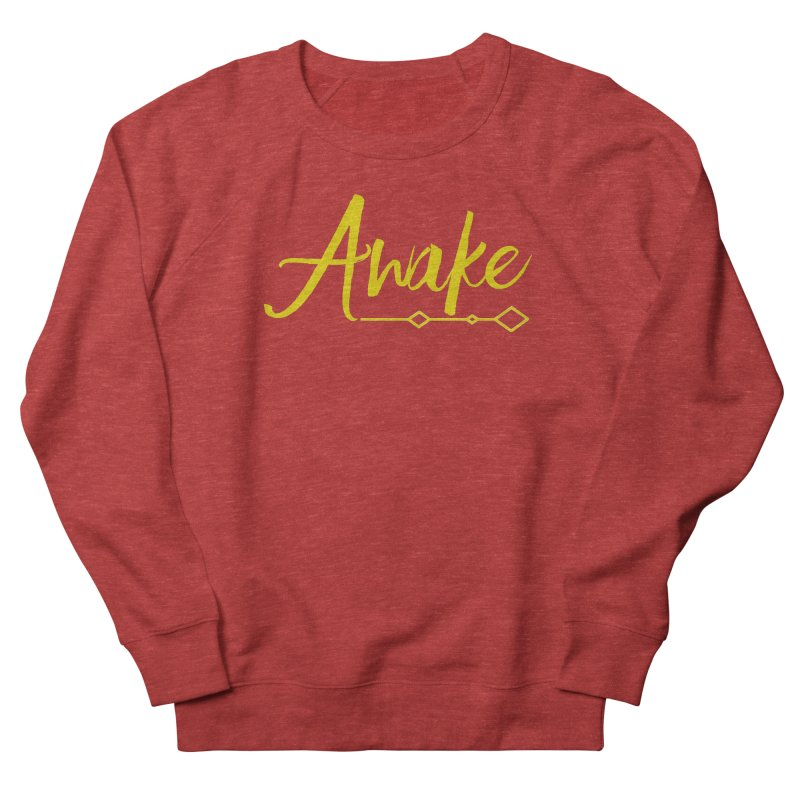 Awake Men's French Terry Sweatshirt by Crystalline Light