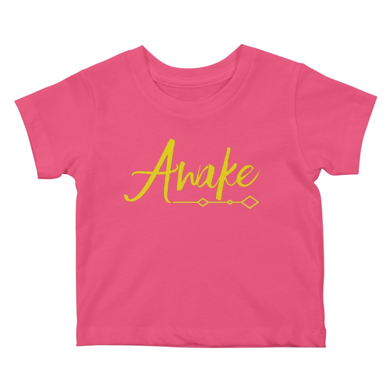 Awake Kids Baby T-Shirt by Crystalline Light